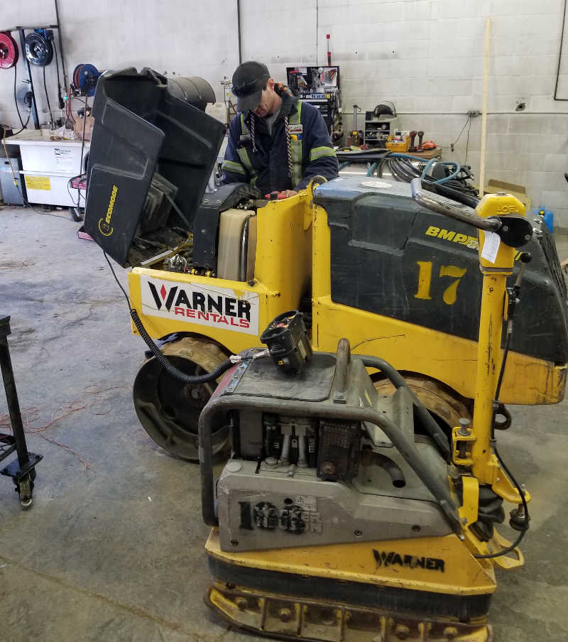 Equipment Repair Service Kamloops & Central BC
