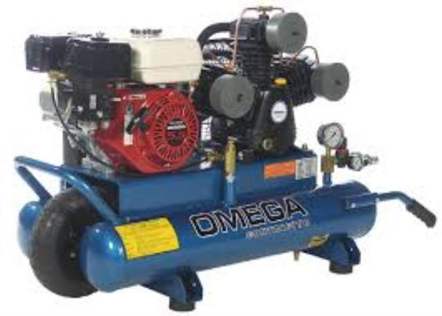 Where to find COMPRESSOR, 25 CFM GAS POWERED in Kamloops