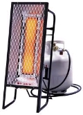 Rental store for HEATER, 25,000 BTU PROPANE RADIANT in Kamloops BC