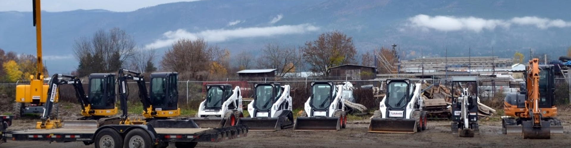 Equipment Rentals in Kamloops & Central BC